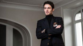 Hotelledelse og hospitality hjalp den Italiensk fødte studenten Leonardo Gloor nærmer seg slutten av studiene sine hos Hotel Institute Montreux.