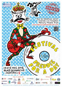 poster freddie for a day may 2016