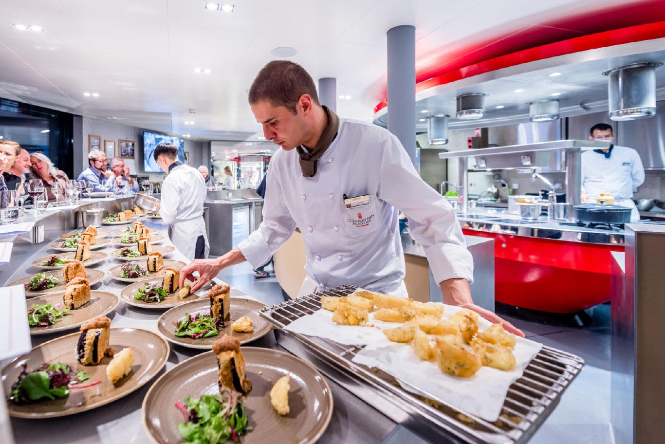 Vegetarisk kokkeutdannelse 3